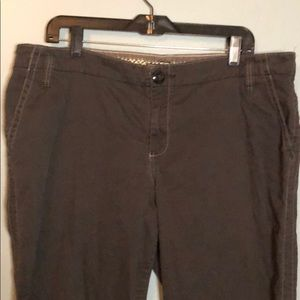 Old Navy gray cords